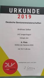 DM Senioren in Leinefelde-Worbis am 12.07.2019