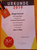 DM 20km Straßengehen in Naumburg 13.04.2019