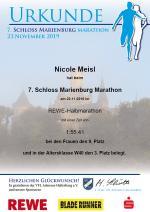 7. Schloss Marienburg Marathon, 23.11.2019